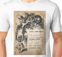 have i gone mad?  Unisex T-Shirt