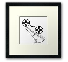 I Love the Movies 02 Framed Print