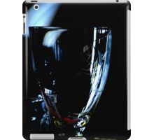 A glass without wine iPad Case/Skin