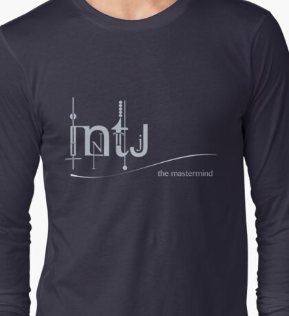 INTJ - The Mastermind/ MBTI Logo Long Sleeve T-Shirt