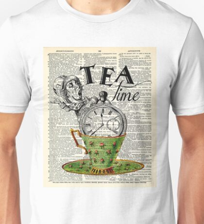 tea time - mad hatter  Unisex T-Shirt