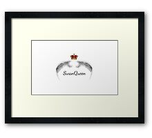 Once Upon A Time - SwanQueen Framed Print
