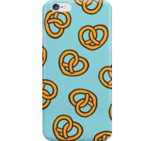 I Heart Pretzels Pattern iPhone Case/Skin