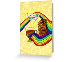 What my Coffee says to me March 17, 2016 Greeting Card