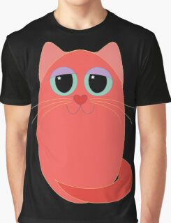 CAT RED ONE Graphic T-Shirt