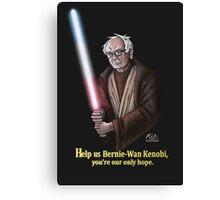 Help us Bernie-Wan Kenobi! Canvas Print