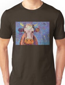 THE COW WITH THE CRUMPLED HORN Unisex T-Shirt