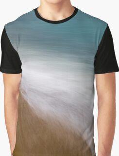 Beach Impression Graphic T-Shirt