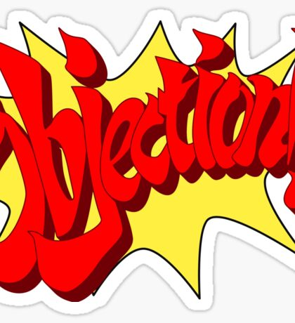 Objection! Sticker