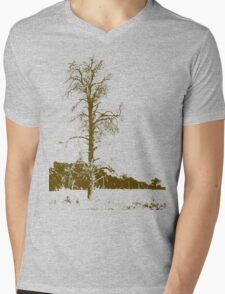 Tree Mens V-Neck T-Shirt