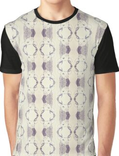 Repetitive Patterned Print - Deer Graphic T-Shirt