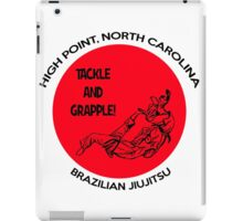 Tackle and Grapple! iPad Case/Skin