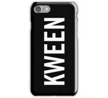 Kween iPhone Case/Skin