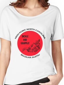 Tackle and Grapple! Women's Relaxed Fit T-Shirt
