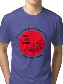 Tackle and Grapple! Tri-blend T-Shirt