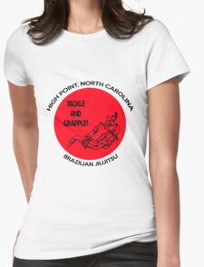 Tackle and Grapple! Womens Fitted T-Shirt