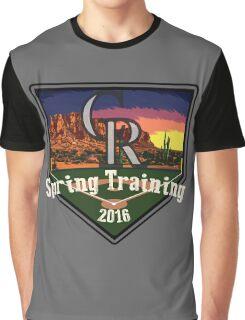 Colorado Rockies Spring Training 2016 Graphic T-Shirt