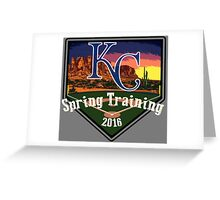 Kansas City Royals Spring Training 2016 Greeting Card