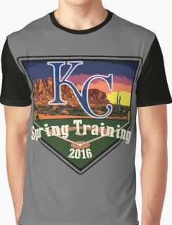 Kansas City Royals Spring Training 2016 Graphic T-Shirt