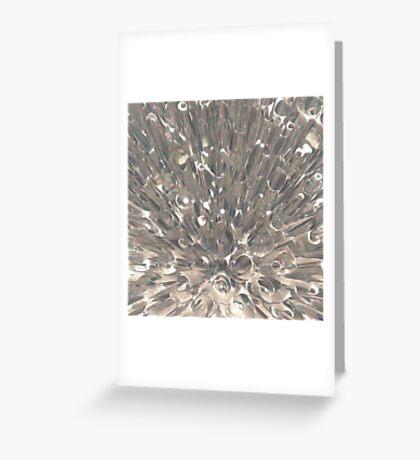 Macro Fractal Abstract Greeting Card