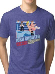 Retro- Axe V Juicy Tri-blend T-Shirt