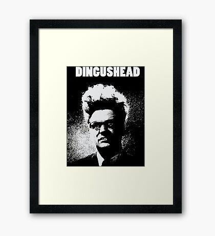 Dingushead Framed Print