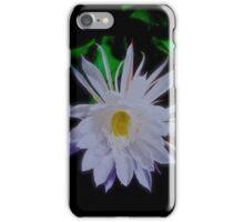Queen of the Night Cereus Orchid Cactus iPhone Case/Skin