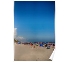 Beautiful Beach, Big Sky Poster