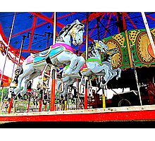 The Carousel Horsey's Secret Photographic Print