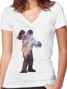 Chewy Women's Fitted V-Neck T-Shirt