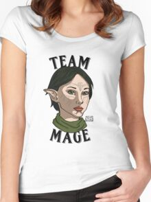 Team Mage Merrill Women's Fitted Scoop T-Shirt