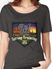 Milwaukee Brewers Spring Training 2016  Women's Relaxed Fit T-Shirt