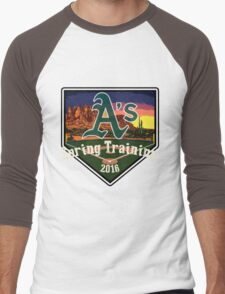 Oakland A's Spring Training 2016 Men's Baseball ¾ T-Shirt