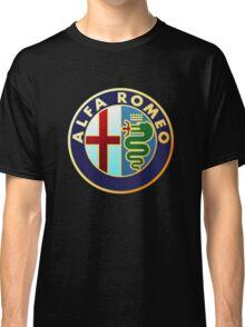 alfa romeo retro vintage Classic T-Shirt