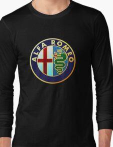 alfa romeo retro vintage Long Sleeve T-Shirt