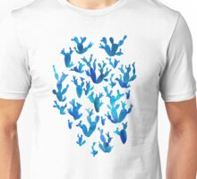 Desert night with cactus Unisex T-Shirt