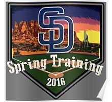 San Diego Padres Spring Training 2016 Poster
