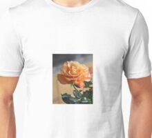 PEACHES AND CREAM ROSE Unisex T-Shirt