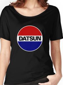 datsun emblem old vintage Women's Relaxed Fit T-Shirt