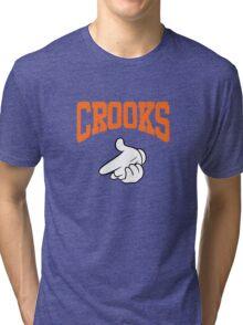 hip hop shoot crooks Tri-blend T-Shirt
