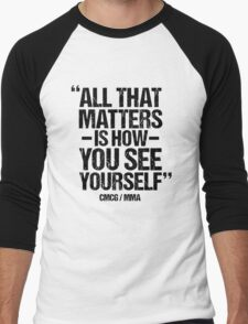 Conor McGregor - (All That Matters) Men's Baseball ¾ T-Shirt