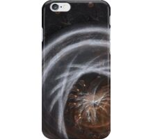 Abstract metal design iPhone Case/Skin