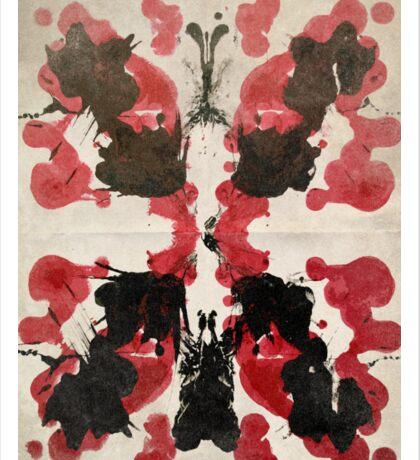 Rorschach Sticker