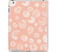 Bubbles on Peach iPad Case/Skin