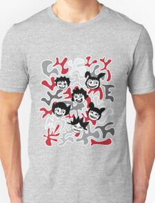 CREEPY FRIENDS Unisex T-Shirt