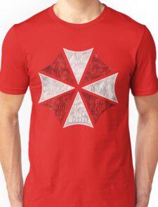 Resident Evil Umbrella Typography Unisex T-Shirt