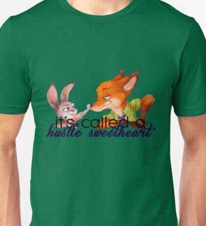 It's called a hustle, sweetheart - Zootropia Unisex T-Shirt