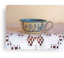 Vintage Toy Teacup Canvas Print