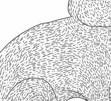 Britannia Petite Rabbit Digital Drawing  Sticker