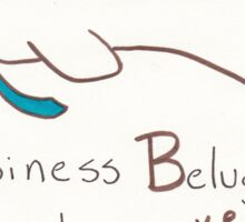 Business Beluga Sticker